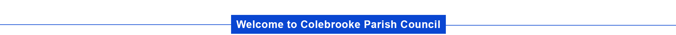 Header Image for Colebrooke Parish Council